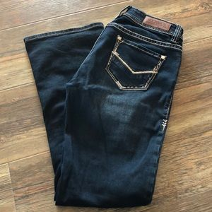 Mid Rise Bootcut 26x30 Rock & Roll Cowgirl Jeans
